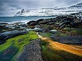 Funningur, Färöer-Inseln 1000 Teile Puzzle quer (CALVENDO Natur)