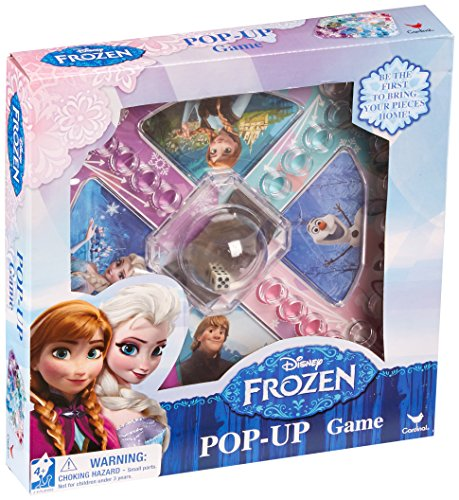 Disney Frozen Movie Toy - Pop Up Family Board Game - Anna and Elsa