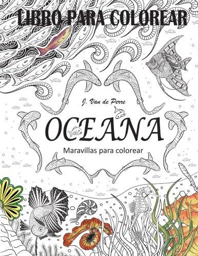 Oceana: Maravillas para colorear por Jorge Van de Perre
