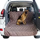 #5: Furrry Buddy Pet Cargo Liner for SUVs and Cars, Quilted 600D Polyester with PU coating, Bumper Protector Included, Silicone Non-slip Backing, Universal Fit-Brown