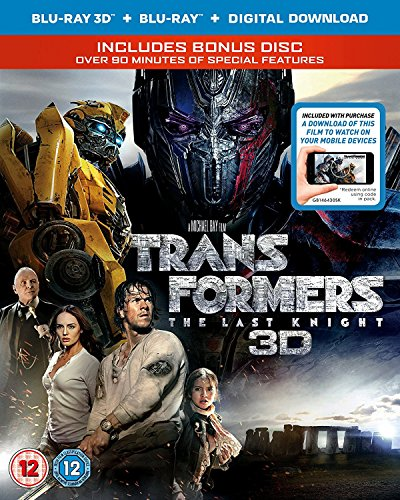 Transformers: The Last Knight [Blu-ray + Blu-ray 3D]