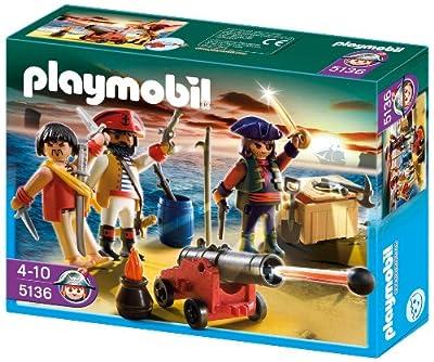 PLAYMOBIL 5136 - Piratenkommando mit Waffenarsenal