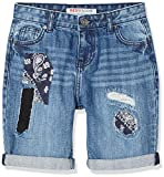 Marchio Amazon - RED WAGON Shorts in Jeans con Toppe Bambino