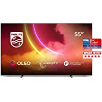 Philips Ambilight TV 55OLED805/12 55-Zoll OLED TV (4K UHD, P5 AI Perfect Picture Engine, Dolby Vision, Dolby Atmos, HDR…