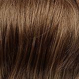 Prettyland - DQ138 50 cm lange Volumen gewellt one-piece Clip-In-Extensions Haarverlängerung Haarteil - 12B helles Goldbraun