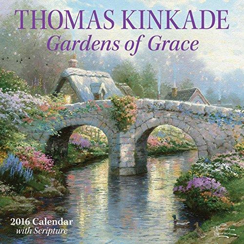 Thomas Kinkade Gardens of Grace Scriptur