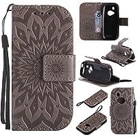 Cozy Hut Nokia 3310 Hülle,Nokia 3310 Case,Nokia 3310 Leder Wallet Tasche Brieftasche Schutzhülle, Prägung Sunflower... preisvergleich bei billige-tabletten.eu