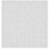 Festnight 50 x 50 cm Gittermatte Streckmetall Edelstahl Gitter Drahtgitter Maschenweite 20 x 10 mm