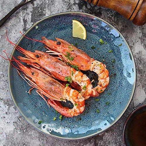 8.85in vajilla de cerámica vajilla occidental vajilla para restaurante cocina sushi occidental filete postre