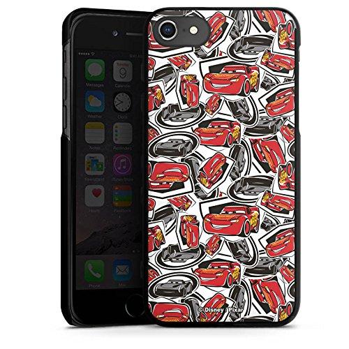 Apple iPhone 4 Silikon Hülle Case Schutzhülle Cars 3 Muster Disney Pixar Hard Case schwarz