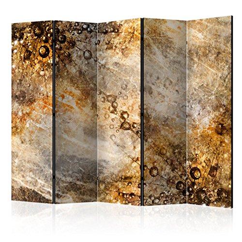 murando Paravent XXL: 225x172 cm Réversible Deux Côtés Impression sur Toile intissée 100% Opaque Foto Paravent décoratif en Bois avec Interieur Impression f-C-0143-z-c