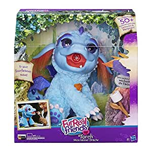 Hasbro FurReal Friends B5142100 – Torch, mein kleiner Drache, elektronisches Haustier