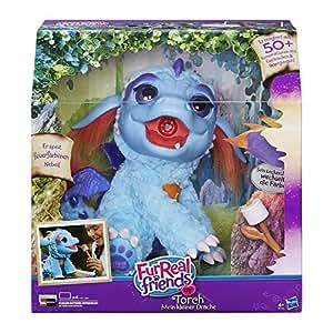 Hasbro FurReal Friends B5142100 – Torch, mein kleiner Drache, elektronisches Haustier