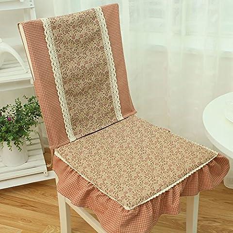 A través de la tapicería sencillo y moderno/tapicería de tela transpirable floral-D 40x103cm(16x41inch)