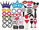#8: SYGA Party props set of 31 funny props paper craft item