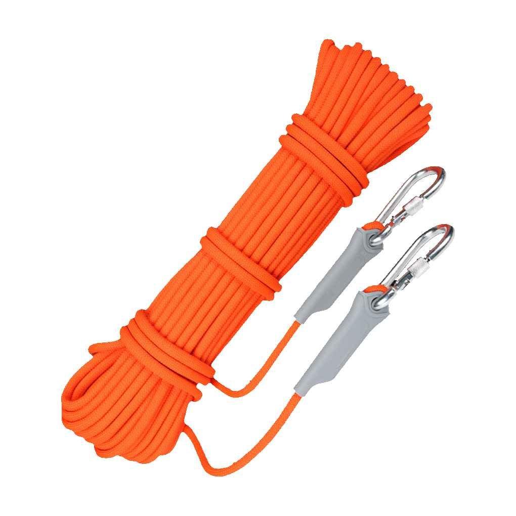 Providethebest XINDA Roca Profesional Cuerda Que Sube anuda al Aire Libre Senderismo Montañismo Cuerpo de Bomberos de Alta Resistencia de la Cuerda del Cable de Seguridad