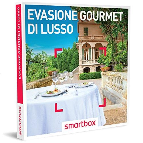Smartbox cofanetto regalo- evasione gourmet di lusso - 31 soggiorni con gusto in hotel 4*