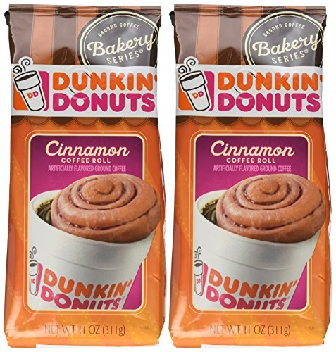 dunkin-donuts-bakery-series-cinnamon-coffee-roll-ground-coffee-11-ounce-bags-pack-of-2-by-dunkin-don