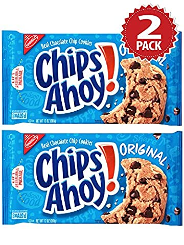 Cookies Chips Ahoy Original Chocolate Chip - Set de 2 (2x369g)