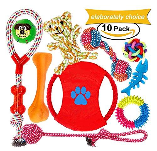 Welpenspielzeug, Hergestellt aus Natürlicher Baumwolle… | 00734010843202