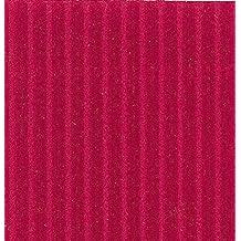 Clairefontaine–Papel de diversas corrigated rollo de cartón, Rojo, 0,70x 0,50m