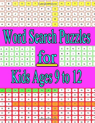 word search puzzles for kids ages 9 to 12: Go!Games Word Search Puzzles for kids ages 9 to 12 Boost your health and happiness through the power of ... Discover goodies galore to enjoy in this por ja kiw