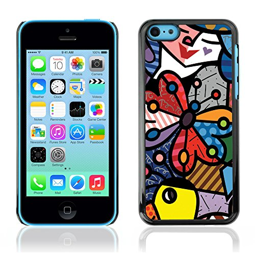 Graphic4You Mermaid Underwater Design Harte Hülle Case Tasche Schutzhülle für Apple iPhone 5C Design #4