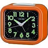ساعة منبه لوميبرايت سويب من سيكو - برتقالي - Qhk023el