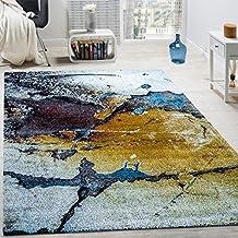 Alfombra De Diseño Moderno Elegante Estampada A Cuadros Marrón Beige Gris Crema, tamaño:120x170 cm