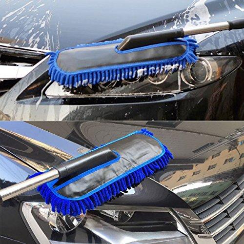 Bonorum guanti da lavaggio auto premium realizzati con la microfibra pi/ù assorbente guanti da lavaggio perfetti per lavare la tua auto con lo shampoo