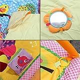 Zicac – Baby Spielmatte, super weiches Gewebe - 6