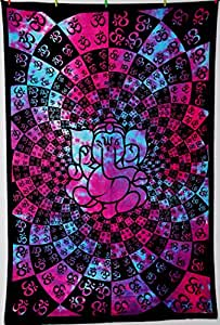 Indian Wall Hanging Mandala Hippie Raithan Tapestry Cotton Bedspread Throw Table Cloth
