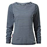 Craghoppers NosiLife Erin Langarm Top Stripe Women - Longlseeve