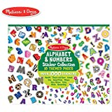 Melissa & Doug 4191 Sticker Collection-Alphabet and Numbers