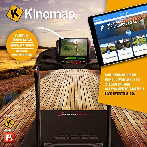 Zoom IMG-3 sportstech f31 tapis roulant elettrico