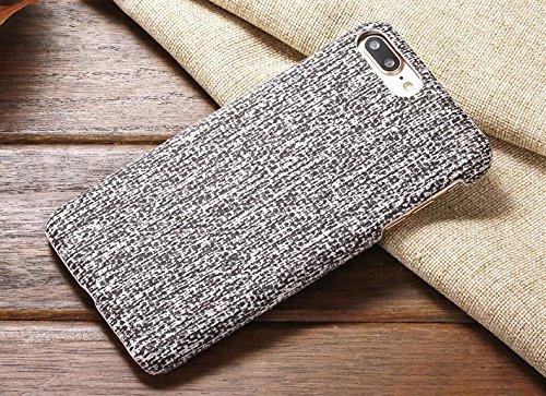 EKINHUI Case Cover IPhone 6S Fall-Abdeckung, Leinenbeschaffenheits-Muster-harte schützende Abdeckung für IPhone 6S ( Color : 7 , Size : IPhone 6S ) 8