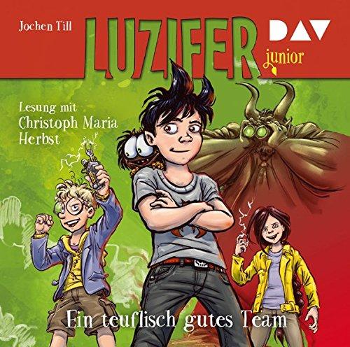 Luzifer junior - Teil 2: Ein teuflisch gutes Team: Lesung mit Christoph Maria Herbst (2 CDs)