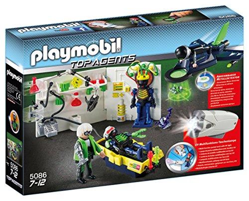 Preisvergleich Produktbild Playmobil 5086 - Agentenlabor mit Flieger