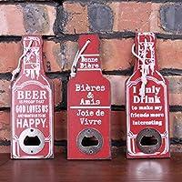 Utensilios de bar ChenHang Abrebotellas Poker Botella De Cerveza De Acero Inoxidable Abrebotellas Ventana Ace Espadas Herramienta Divertida 1Pc Botella De Cerveza Abridor Portátil Negro