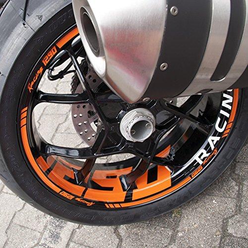 Felgenrandaufkleber Supermoto KTM SuperDuke SD 1290 R Felgenaufkleber Aufkleber