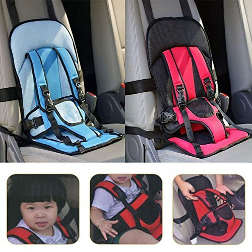 DivineXt Multi-function Adjustable Baby Car Cushion Seat with Safety Belt - For Babies & Toddlers