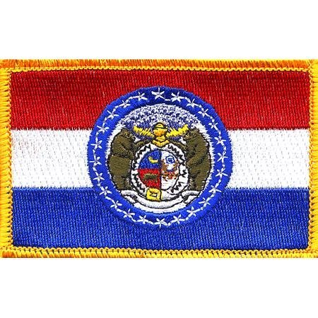 Missouri State Flag Patch by Fifes Flags Missouri State Flag Patch