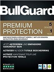 BullGuard Premium Protection 2019 - 1 Jahr / 5 Geräte (PC, MAC, Android)|Vollversion|5 Geräte|1 Jahr|PC/Mac/Android usw.|Download|Download