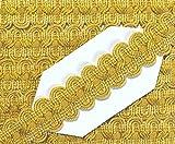 Posamentenborte gold 15 mm