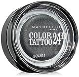 Maybelline New York Tattoo 24H Sombra de Ojos, Tono: nº55 Inmortal Charcoal