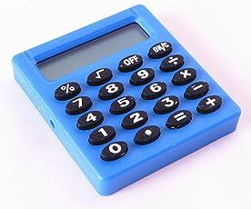 Climberty Mini Standard Function Handheld Calculator Random Color