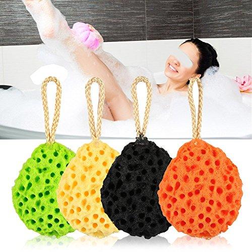 Soft Schwamm körper Badeschwamm, 8 PCS Organische Haut Sorgfalt Dusche Badekurort Körper Reinigungs Massageschwamm, Perfekt für Wellness – Schwamm Dusche Baby