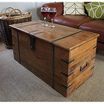 Sheesham Wood Rosewood Chest Coffee Table Classic Thakat Trunk. Sheesham Wood Rosewood Chest Coffee Table Classic Thakat Trunk