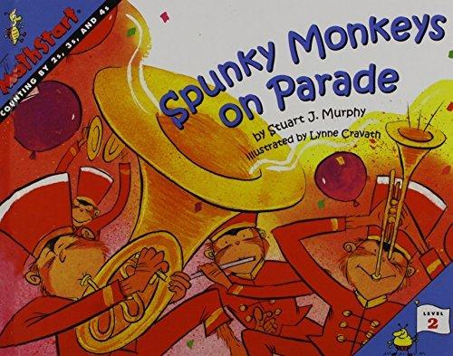 Spunky Monkeys on Parade (Mathstart) by Stuart J. Murphy (2009-04-09)