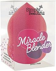 Miracle Make-up-Schwamm - Make-up-Ei - latexfrei - Tropfenform - Pink - 1 Schwamm pro Packung